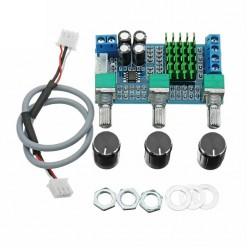Аудио стерео усилитель мощности двухканальный XH-M567 на TPA3116D2