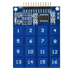 16-клавишная сенсорная клавиатура на TTP229