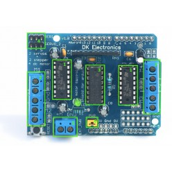 4-х канальный драйвер на L293D