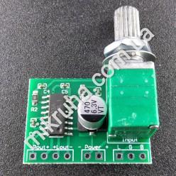 Модуль RS003. Цифровой стерео УНЧ D-класса на микросхеме PAM8403