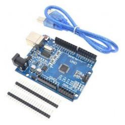 Arduino UNO с USB кабелем