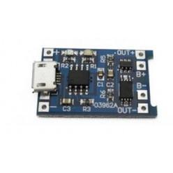 Зарядное для Li-Ion аккумуляторов на TP4056 с защитой