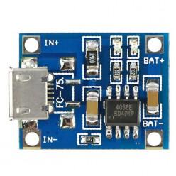 Зарядное для Li-Ion аккумуляторов на TP4056