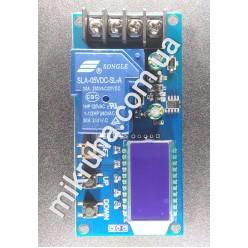 Контроллер заряда с экраном для Pb, LiFePO4, li-ion 6-60v до 30A