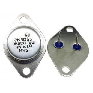 Транзистор биполярный 2N3055 в наличии и под заказ купить в Украине оптом и в розницу