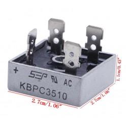 KBPC3510 диодный мост горизонтальный