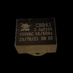 Конденсатор 3.5mF 450V прямоугольный JYUL CBB-61