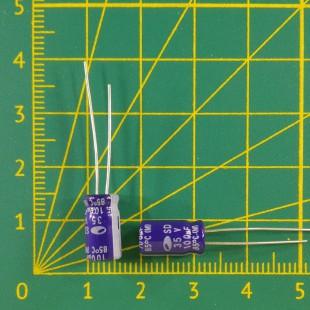 100 мкФ х  35В Конденсатор электролитический 85С