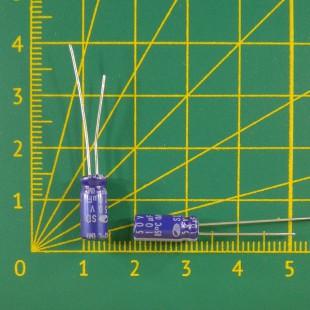 10 мкФ х  50В Конденсатор электролитический 85С