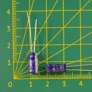 3,3 мкФ х 63В Конденсатор электролитический 85С