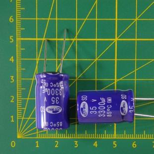 3300 мкФ х  35В Конденсатор электролитический 85С