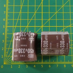 330 мкФ х 450 В Конденсатор электролитический 105С