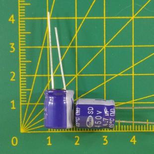 4,7 мкФ х  450В Конденсатор электролитический 85С