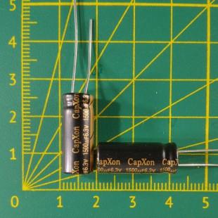Конденсатор компьютерный 1500 мкФ х 6,3В