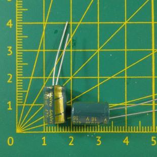 Конденсатор компьютерный 470 мкФ х 16В