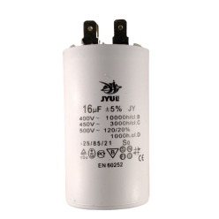 Конденсатор JYUL CBB-60 16mF 450V c клемами