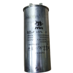 Конденсатор JYUL CBB-65 60mF 450V в алюминиевом корпусе