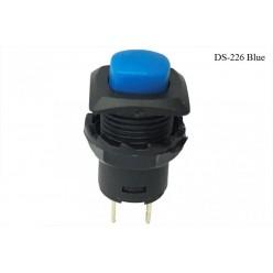 Кнопка нажимная DS-226 синяя