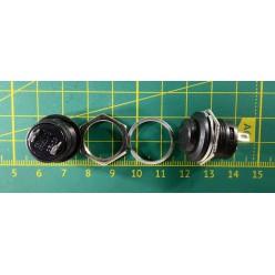 Кнопка PBS-26B (DS-212) чёрная