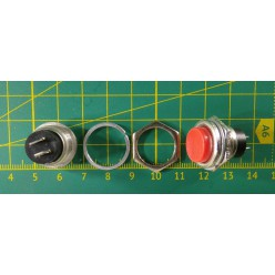 Кнопка PBS-26B (DS-212) красная