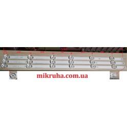 Комплект подсветки 32MB25VQ 6916l-1974A 6916l-1981A lv320DUE 32LF580V 32LB5610 innotek drt 3,0 32 32LB582V