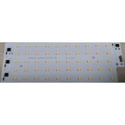 Светодиодная матрица для прожектора 220В теплая белая