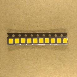 SMD светодиод 2835 9В, теплый белый