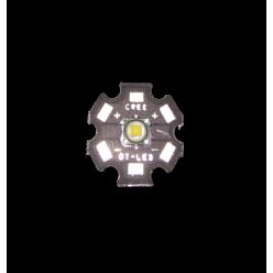 Светодиод Cree T6 20 мм чёрная подложка