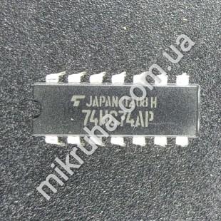 Микросхема 74HC74AP