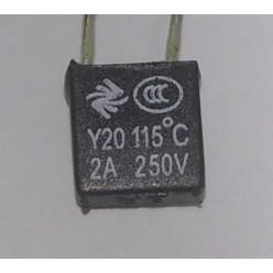 Термопредохранитель 115С 2А