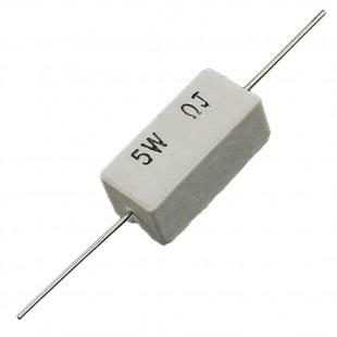 Резистор горизонтальный аксиальный 5Вт, 5%