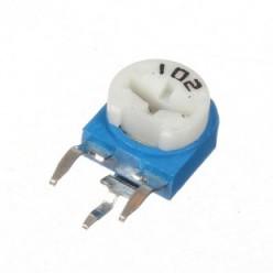 Резистор подстроечный 1 кОм WH06-1 вертикальный