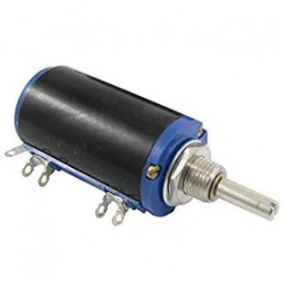 Резистор переменный многооборотный WXD3-13-2W 3 вывода, 3 pin группа B