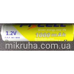 AAA батарея аккумуляторная 1.2V 1000mAh