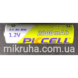 AA батарея аккумуляторная 1.2V 2000mAh