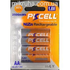 AA батарея аккумуляторная 1.6V 2500mAh
