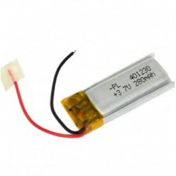 Li-PL аккумулятор 401230 280 mAh