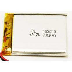 Li-PL аккумулятор 403040 800 mAh