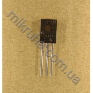 Биполярный транзистор 2SB649A в наличии и под заказ купить в Украине оптом и в розницу
