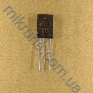 Биполярный транзистор 2SB772 в наличии и под заказ купить в Украине оптом и в розницу