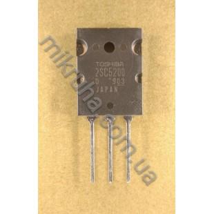 Биполярный транзистор 2SC5200 в наличии и под заказ купить в Украине оптом и в розницу