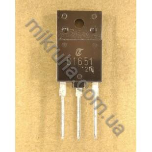 Биполярный транзистор 2SD1651 в наличии и под заказ купить в Украине оптом и в розницу