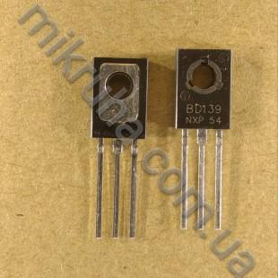 Биполярный транзистор BD139 в наличии и под заказ купить в Украине оптом и в розницу