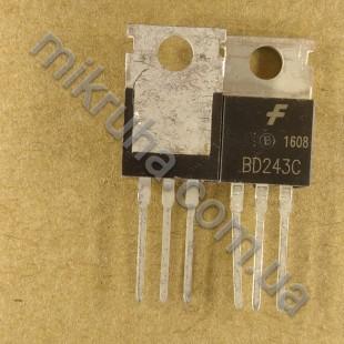 Биполярный транзистор BD243C в наличии и под заказ купить в Украине оптом и в розницу