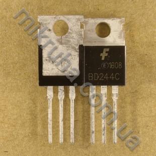 Биполярный транзистор BD244C в наличии и под заказ купить в Украине оптом и в розницу