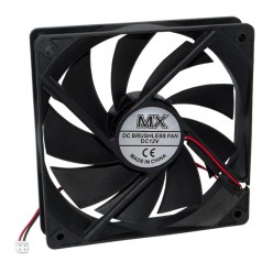Кулер/Вентилятор 120х120 мм 12V 2 провода