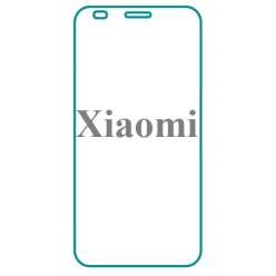 Защитное стекло белое 5D Redmi Note 4X