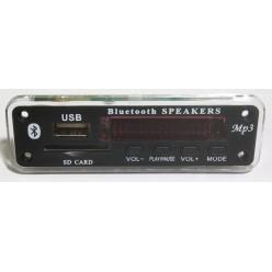 Встраиваемый mp3-плеер Bluetooth FM USB SD
