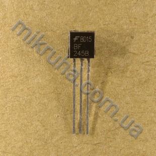 Полевой транзистор BF245B в наличии и под заказ купить в Украине оптом и в розницу