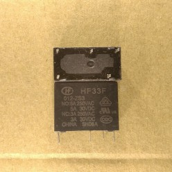 Реле 12V 5A маркировка HF33F-012-HS3